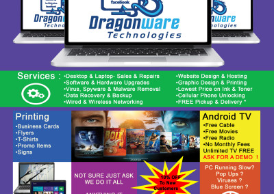 Dragonware Flyer