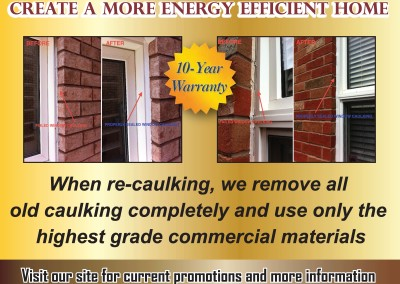 Gold Seal Caulking Flyer Front