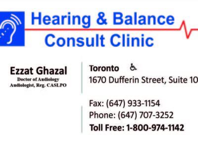 Hearing & Balance FAW3