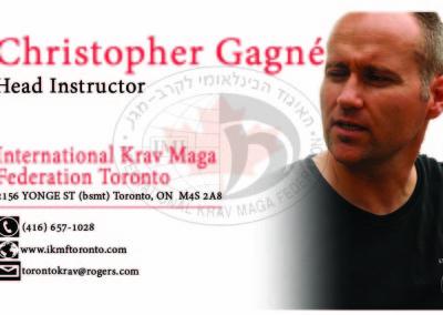 Krav Maga Toronto Front white