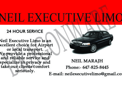 Neil Executive Limo Front -2
