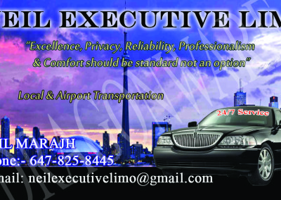 Neil Executive Limo Front