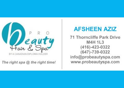 Pro Beauty Spa Front