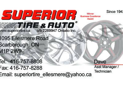 Superior Tire & Auto-Dave Front