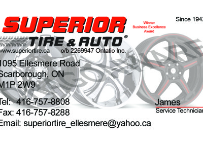 Superior Tire & Auto-James Front