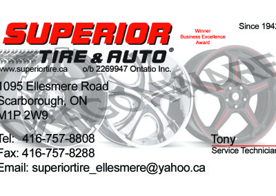 Superior Tire & Auto-Tony Front