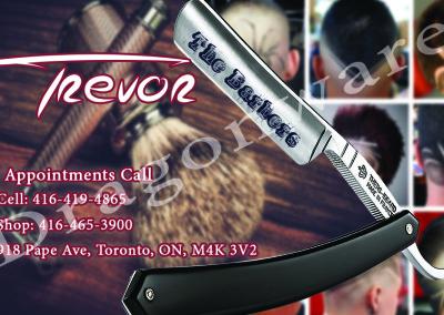 Trevor Barber Shop Front