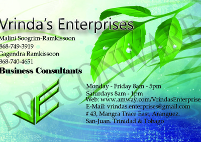 Vrindas Enterprise Front FINAL