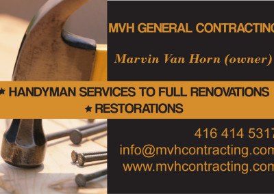 mvh business card